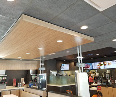 ceiling tiles and coffers